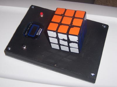 rubiks cube timer with video